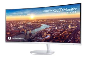Photo Editing Curved Monitor
