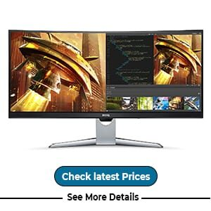 BenQ EX3501R HDR Ultrawide Curved Gaming Monitor