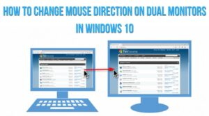 How to Move Mouse Between Two Monitors in Window 7 and Window 10