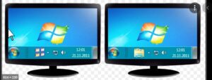 How to Move Mouse Between Two Monitors in Window XP