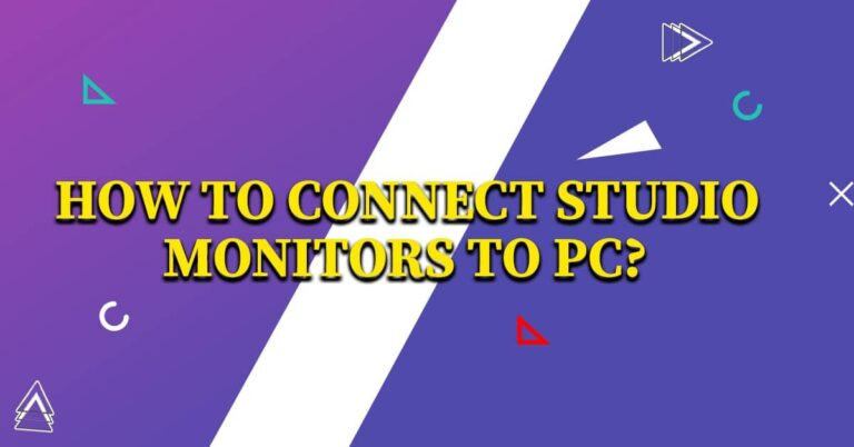 How To Connect Studio Monitors To Pc