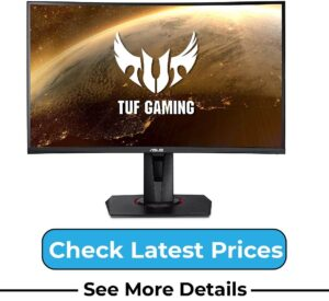 """ASUS TUF Gaming VG27VQ 27"""" Curved Monitor"""