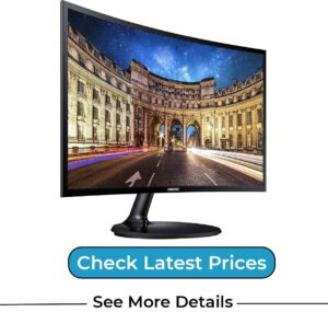 SAMSUNG LC24F390FHNXZA 24-inch Curved LED Gaming Monitor