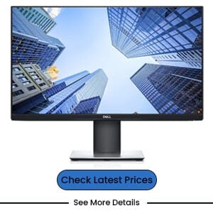 Dell P2419H 24 Inch 3H Hard Coating IPS Monitor